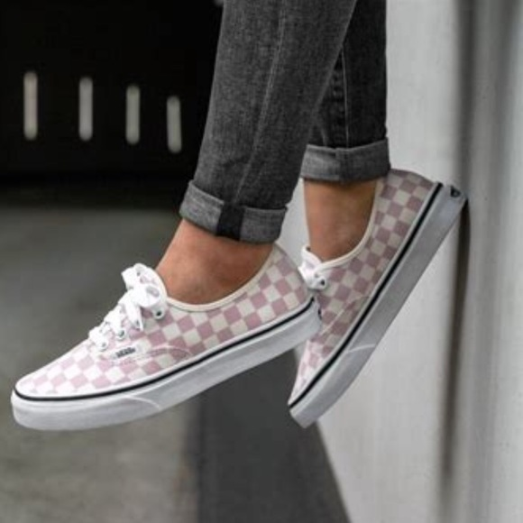 81be67def2 Vans Authentic Checkerboard Shoes